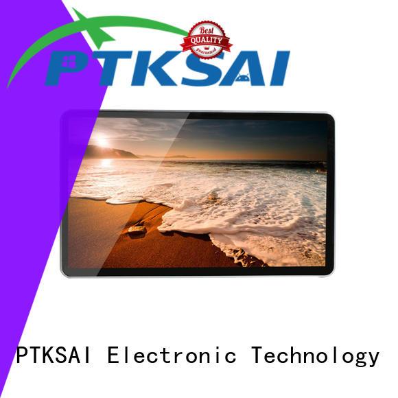 digital signage screens with camera for self service PTKSAI