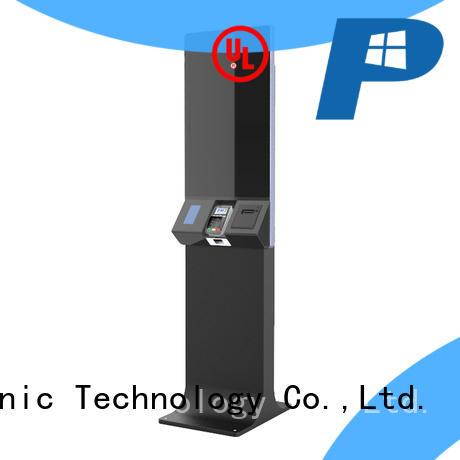top selling order kiosk with fingerprint reader for sale