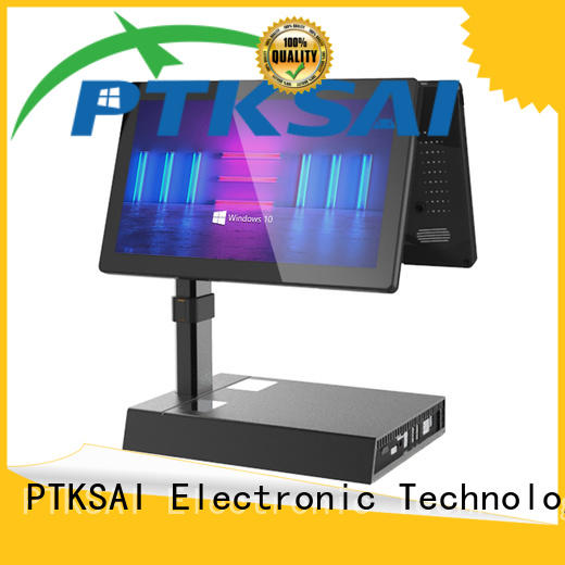 PTKSAI popular cash drawer with receipt printer for sale