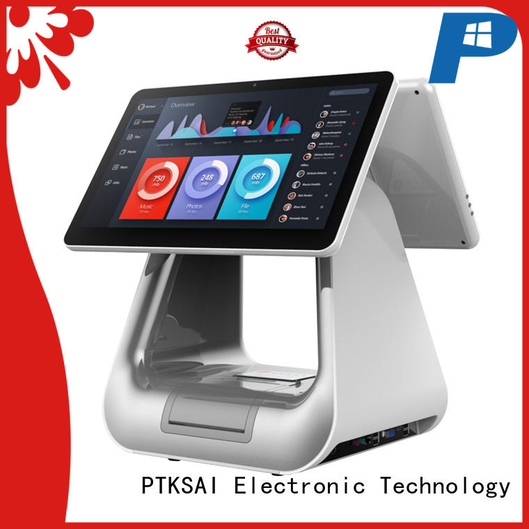epos system all in one touch pos terminal windows for payment PTKSAI