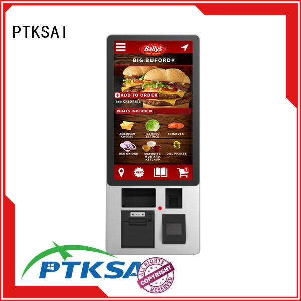 PTKSAI Brand payment Tax self pay kiosks touch