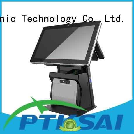 high quality point of sale cash register with barcode scanner for payment