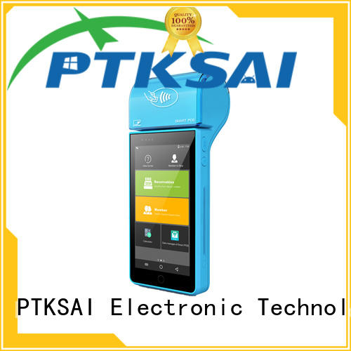 PTKSAI handheld mobile point of sale devices mobile for restaurants and bars