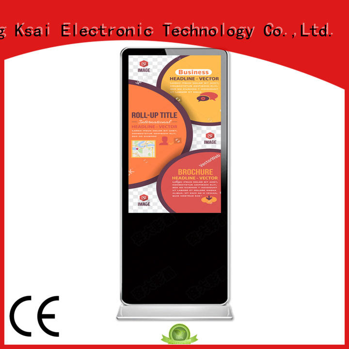 portrait cheap digital signage with led panel for sale