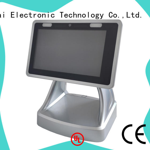 portable wireless pos system with smart card reader for payment