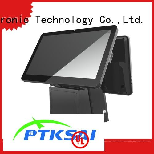 PTKSAI white pos terminal android for restaurants