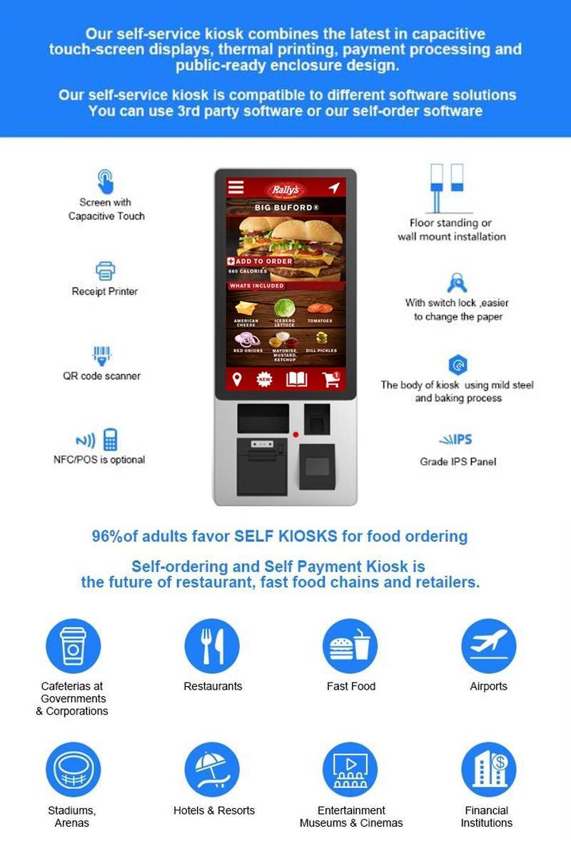 PTKSAI-Find Self Service Food Kiosk Self-service Machine On Ptksai