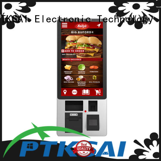 self pay kiosks payment screen PTKSAI Brand