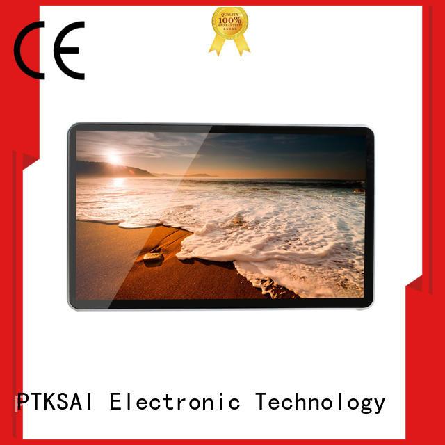 PTKSAI hot-sale digital signage screens with wifi for self service