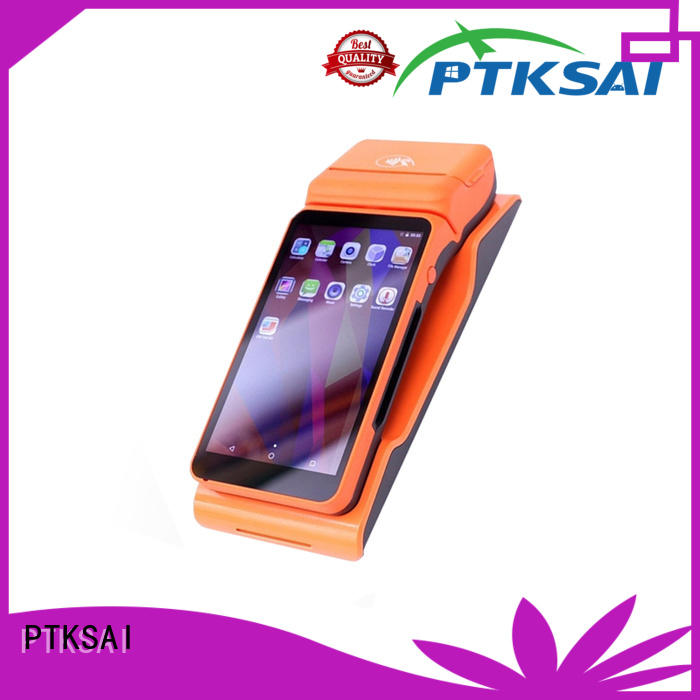 PTKSAI food portable pos system with smart card reader for restaurants and bars