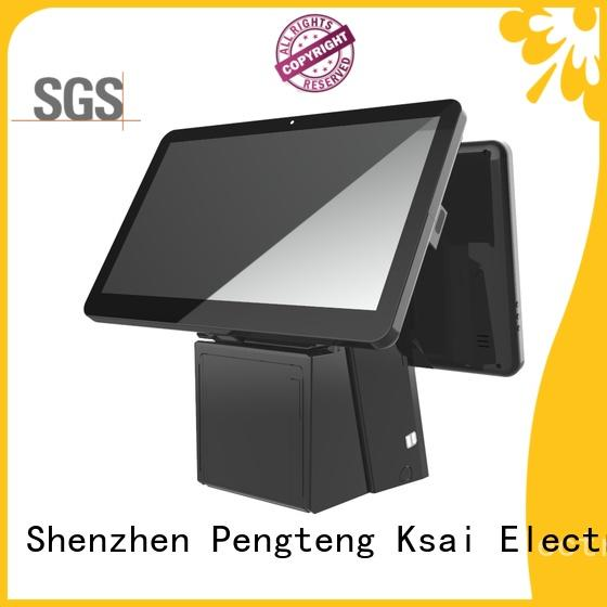 PTKSAI high end pc pos with receipt printer for self service