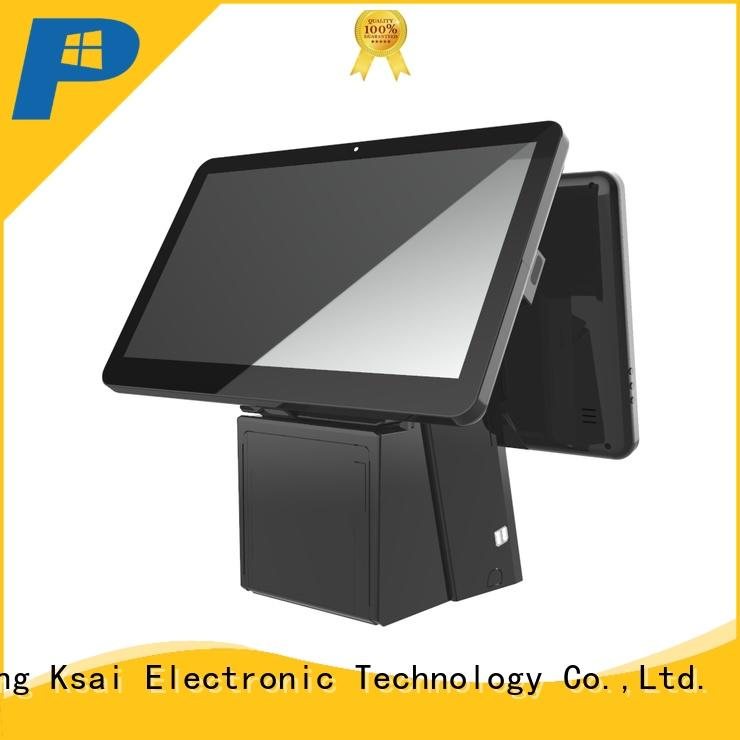 PTKSAI pos cash register with barcode scanner for self service
