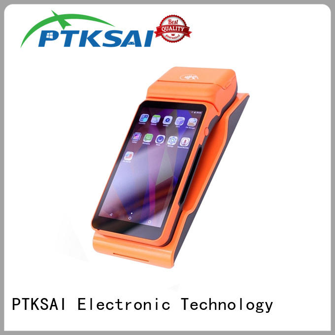 PTKSAI pos devices with customer display for restaurants and bars