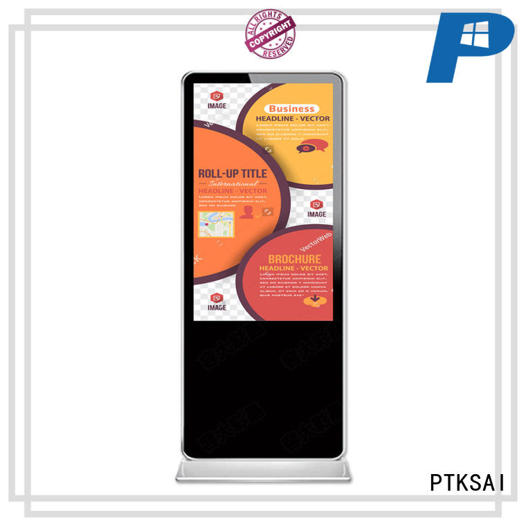 PTKSAI interactive digital signage displays pc for advertising