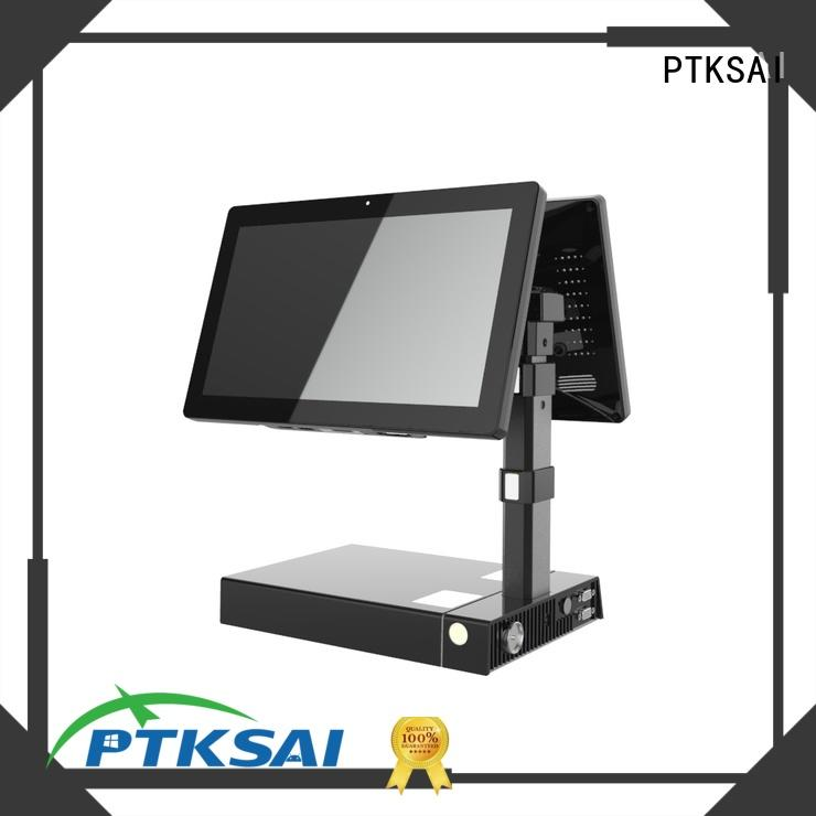 fast mobile pos android with customer display for payment