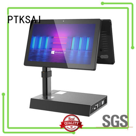 PTKSAI all in one pos terminal machine with printer for sale