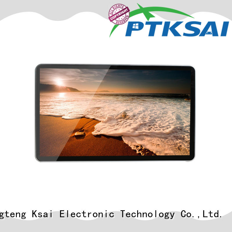 wall mounted digital signage ksts for self service PTKSAI