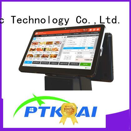 Hot allinone retail pos machine portable PTKSAI Brand