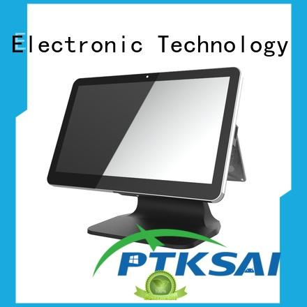 PTKSAI fanless wireless pos system for restaurants and bars