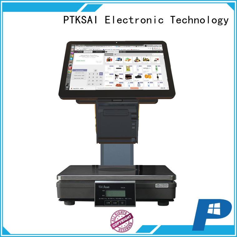 computer cash register with receipt printer for sale PTKSAI