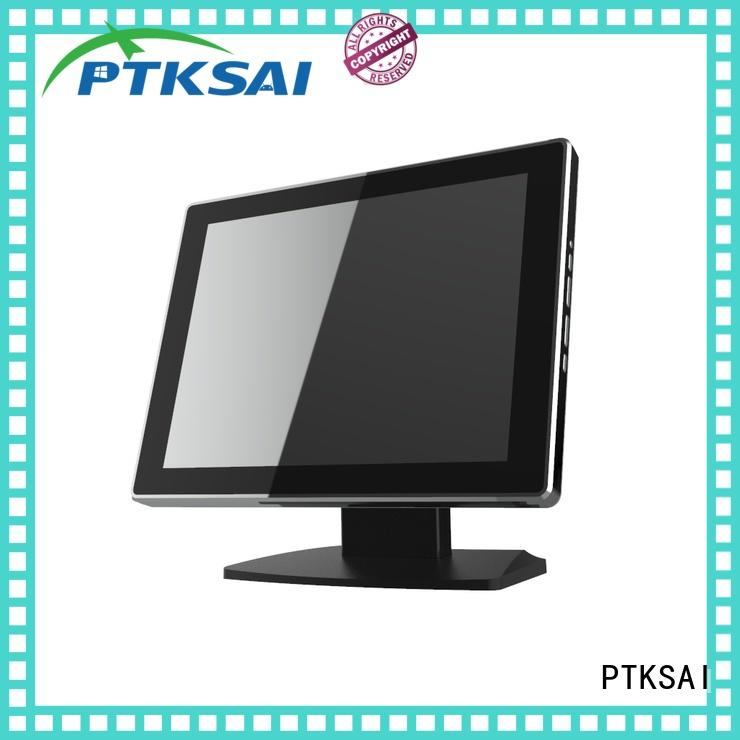 PTKSAI portable pos system with printer for payment