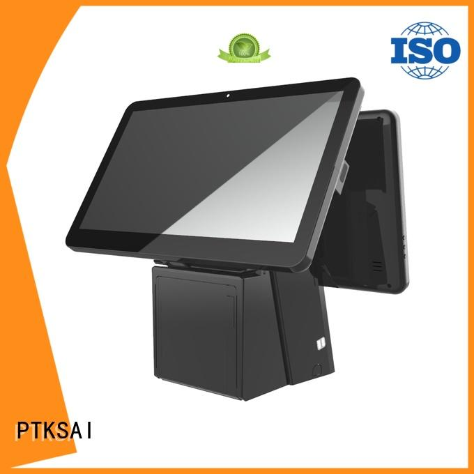 PTKSAI point of sale cash register with thermal printer for promotion