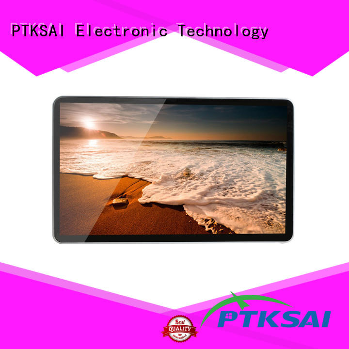 pc outdoor digital signage displays with wifi for self service PTKSAI