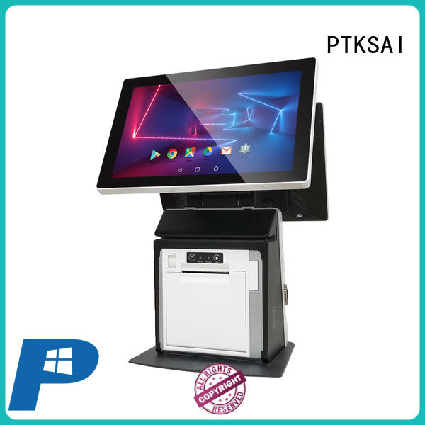 PTKSAI all in one touchscreen pos terminal factory direct supply for restaurants