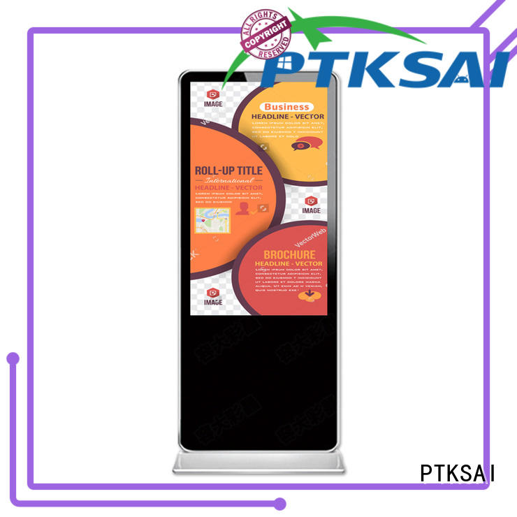 indoor digital signage ksts for self service PTKSAI