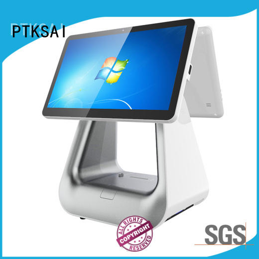 PTKSAI touch screen cash register with good price for sale