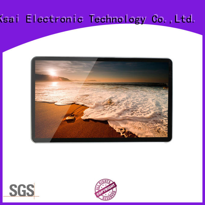 PTKSAI interactive wall mounted digital signage with camera for sale