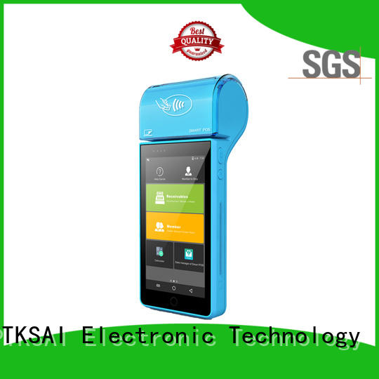 PTKSAI handheld android tablet pos for payment