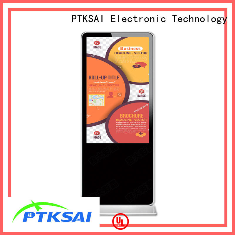 PTKSAI lcd wall mounted digital signage signage for