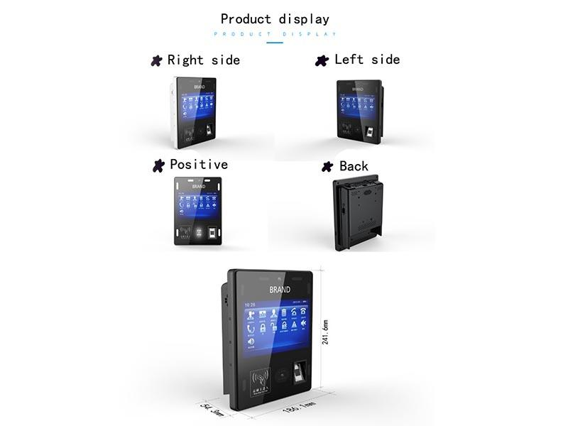 PTKSAI-Self Check In Kiosk Manufacture | 7 Inch Touch Screen Wall-mounted-1