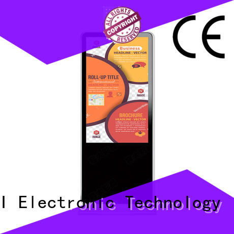 digital signage device with led panel for self service PTKSAI