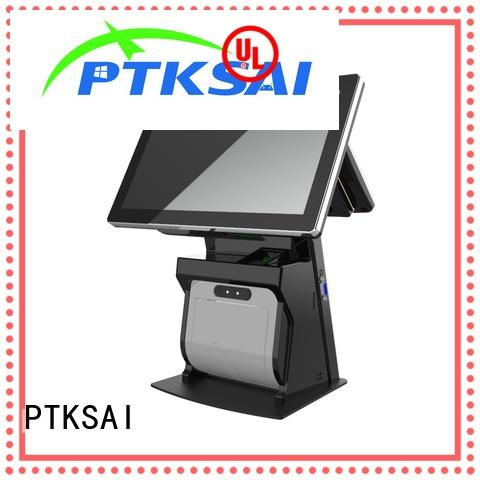 fashion pos touch screen computer with receipt printer for sale PTKSAI