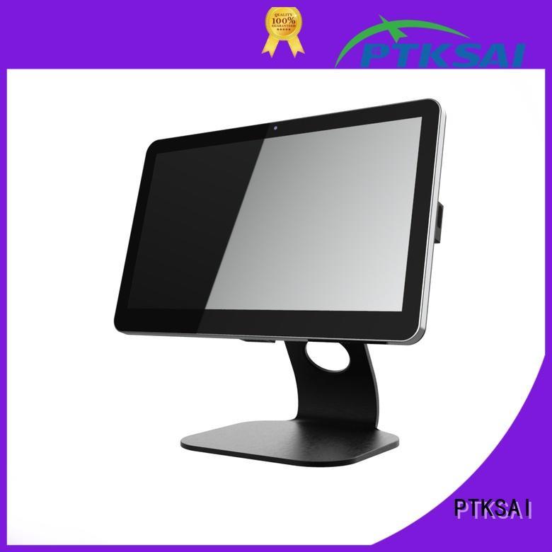 PTKSAI mobile pos terminal with customer display for small business