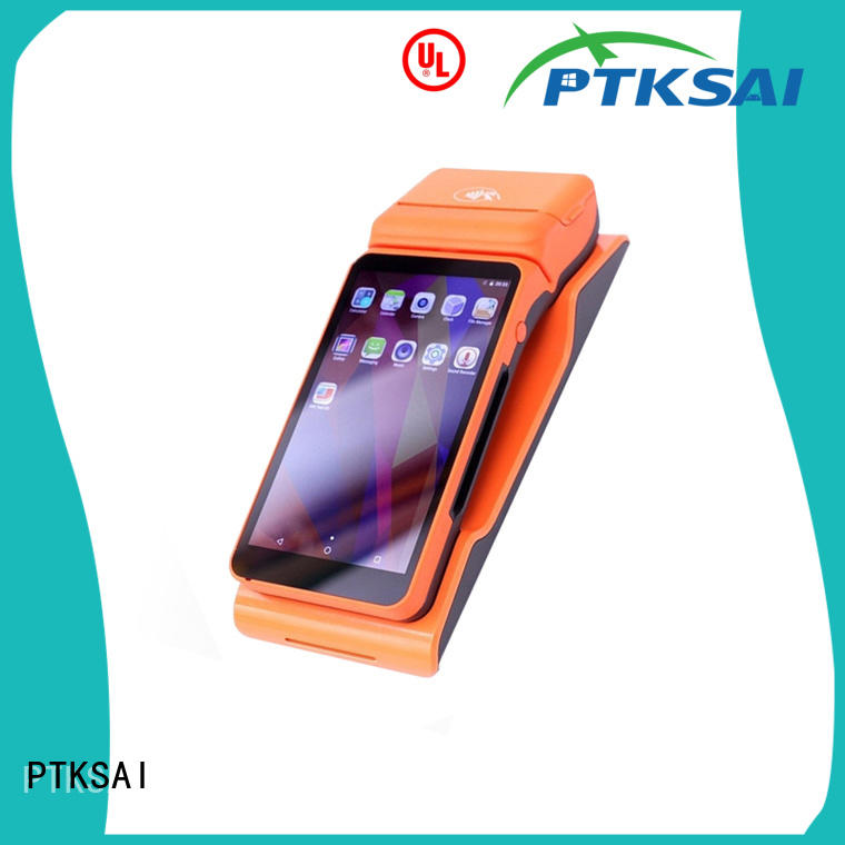 fanless mobile pos tablet mobile for payment PTKSAI