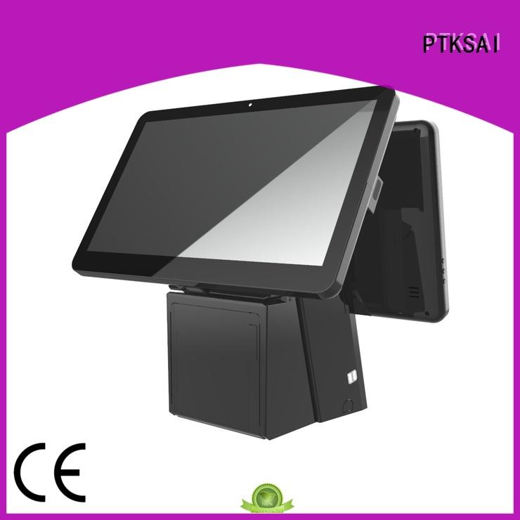 PTKSAI integrated all in one pos terminal without auto cutter for sale