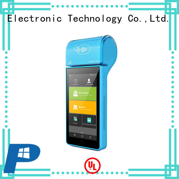 PTKSAI portable mobile point of sale devices with smart card reader for small business