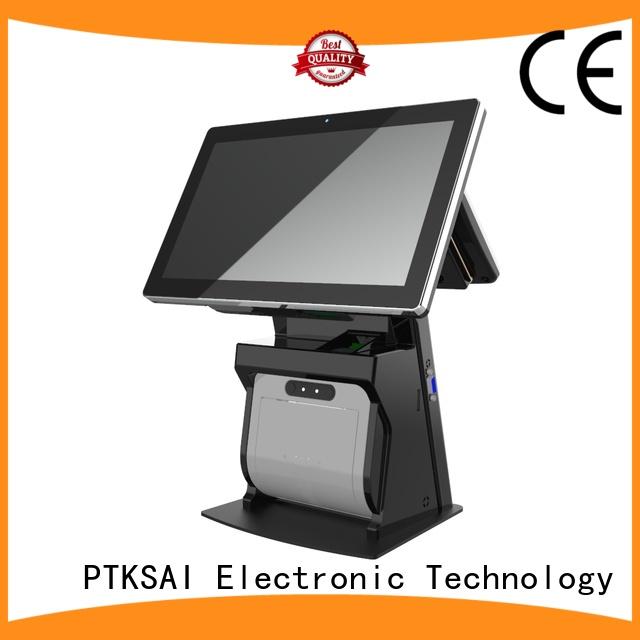 "USED 12/"" Compact POS Cash Drawer Portable Restaurant Kiosk Retail Automatic 24V"
