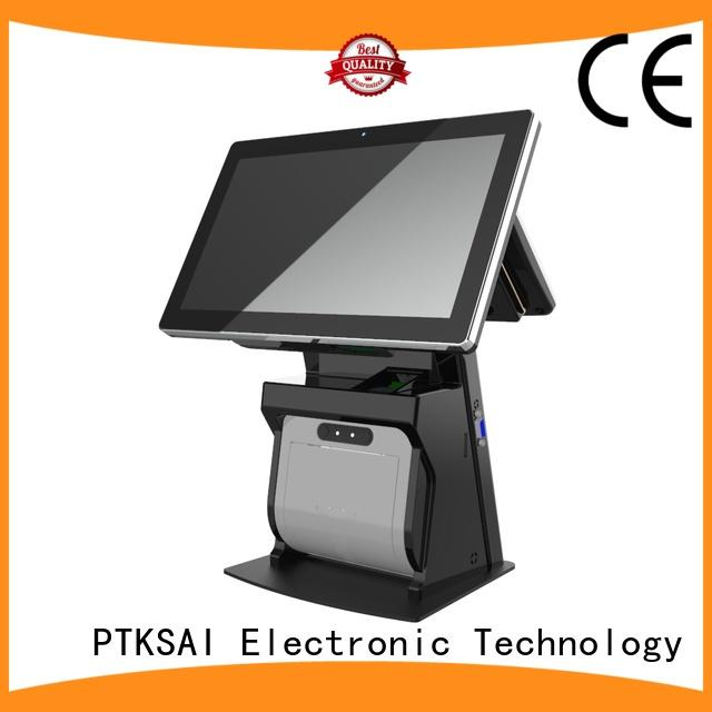 retail all in one pos without auto cutter for restaurants