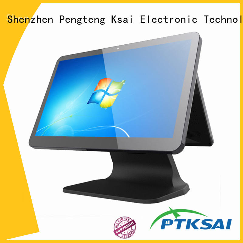PTKSAI point of sale cash register with barcode scanner for payment