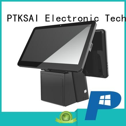retail all in one pos terminal with thermal printer for restaurants