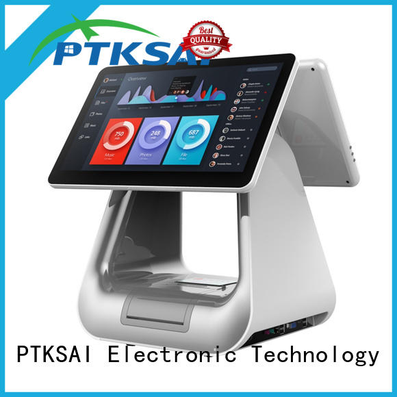 high quality point of sale cash register with auto cutter for restaurants
