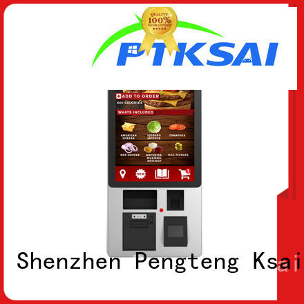 payment screen Banking PTKSAI Brand self pay kiosks manufacture