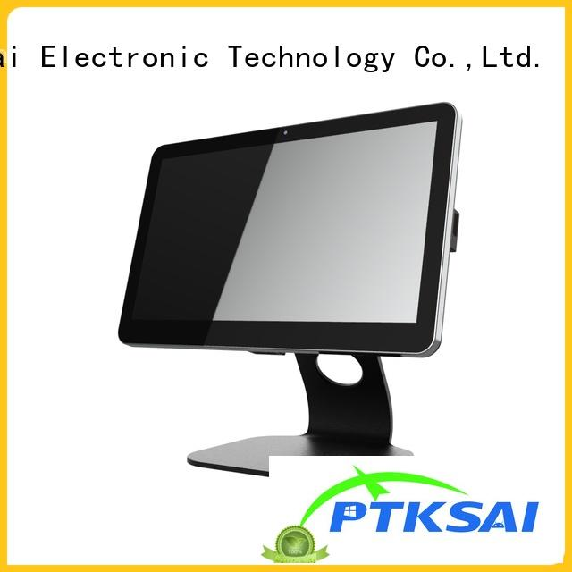 PTKSAI ordering mobile pos tablet with printer for restaurants and bars
