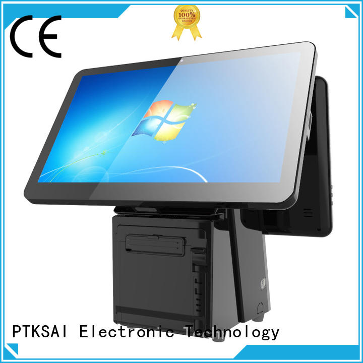 PTKSAI point of sale cash register without auto cutter for restaurants