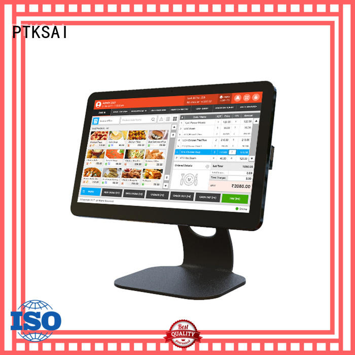 PTKSAI fanless wireless pos system pos payment