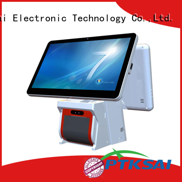 PTKSAI ksa touch screen pos with auto cutter for restaurants